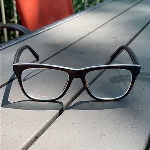 Warby Parker tortoise prescription eyeglasses